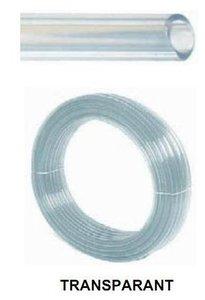 Heldere PVC slang blank 9-12 mm