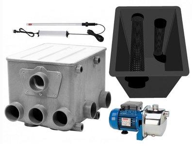 AquaForte Trommelfilter set+Budget Bio Kamer